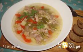 Средиземноморский суп из кролика