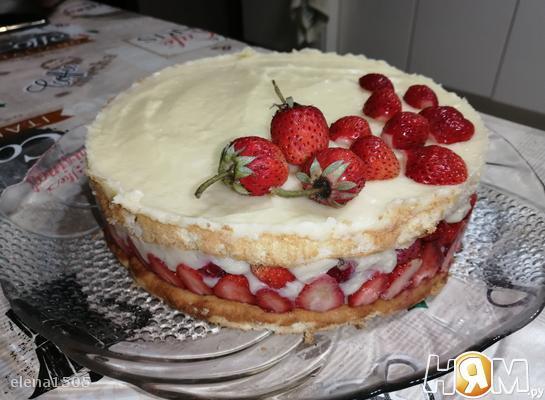 """Торт """"Фрезье"""""""