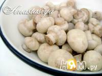 Приготовление маринованных шампиньонов на закуску: шаг 3