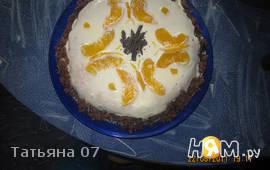 Торт персиковый