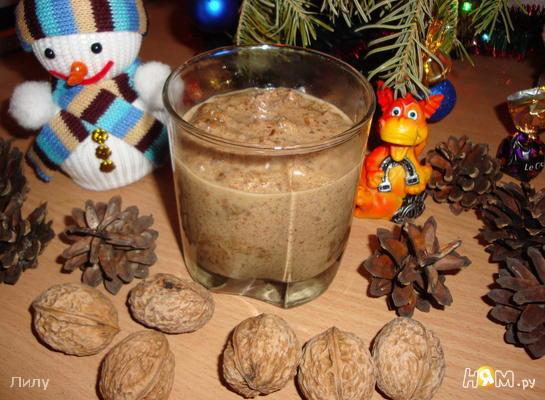 Ореховая паста - Intxaursaltsa