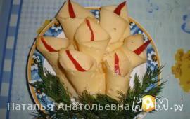 """Сырная нарезка """"лилии"""""""
