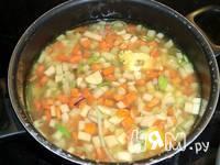 Приготовление супа с ветчиной и беконом: шаг 2