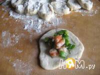 Приготовление рыбного супа с креветочными пельменями: шаг 7