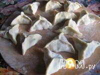 Приготовление рыбного супа с креветочными пельменями: шаг 8
