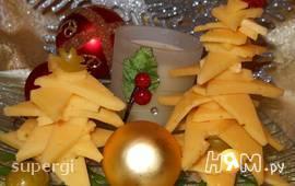 """Новогодняя елка """"Сырная красавица"""""""