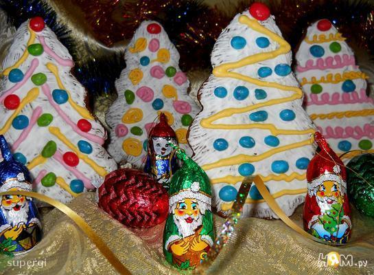 """Рождественские пряники """"Вкусный подарок"""""""