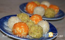 Закусочные шарики из сыра