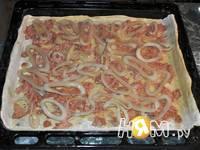 Приготовление пиццы с тунцом и кальмарами: шаг 4