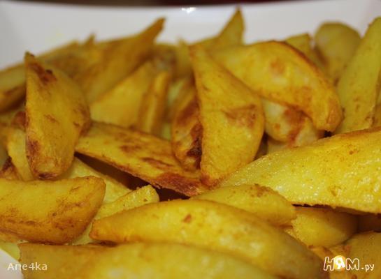 Картошка печеная пряная