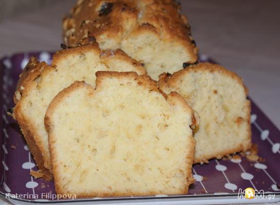 Рецепт Лаймовый кекс с лимонной пропиткой