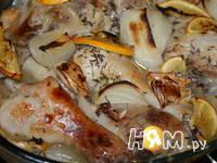Приготовление голени куриной: шаг 7