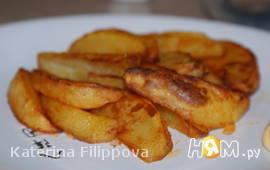 Острые картофельные дольки