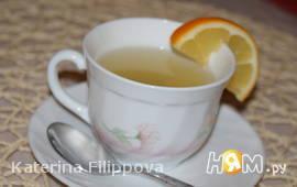 Имбирный чай с цитрусовым ароматом