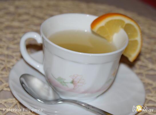 Рецепт Имбирный чай с цитрусовым ароматом