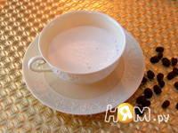 Приготовление кофе-латте: шаг 1