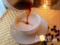 Приготовление кофе-латте: шаг 2