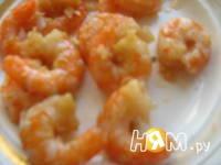 Приготовление тыквенных сердечек с креветками: шаг 4