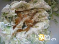 Приготовление тыквенных сердечек с креветками: шаг 5
