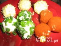 Приготовление салата с креветками и творогом: шаг 6