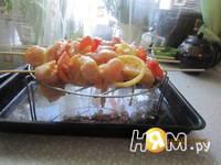 Приготовление шашлыка на шпажках в духовке: шаг 5