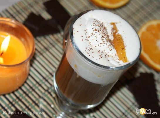 Рецепт Апельсиновый кофе