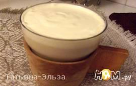 Чай  с молоком и коньяком