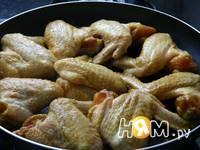 Приготовление куриных крылышек ароматных: шаг 4