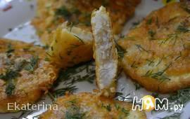 Рыбка в сырной шубке