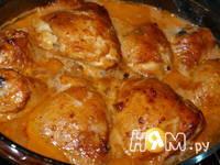 Приготовление куриных окорочков в соусе: шаг 7