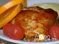 Приготовление куриных окорочков в соусе: шаг 8