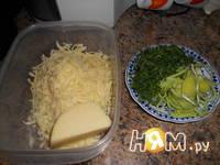 Приготовление грибов в лаваше: шаг 2