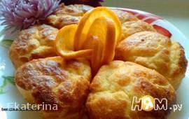 Французские булочки с апельсиновым сиропом