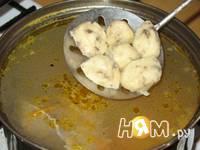 Приготовление супа с грибными клецками: шаг 6