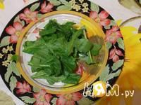Приготовление омлета с креветками и грибами: шаг 7