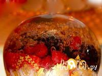 Приготовление ягод в желе из шампанского: шаг 1