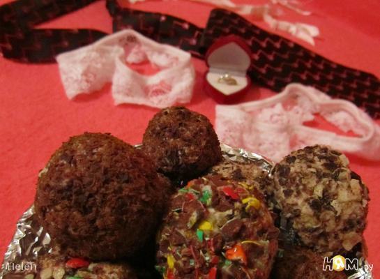 """Творожные конфеты """"Страсть"""""""