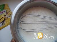 Приготовление десерта Три вкуса: шаг 2