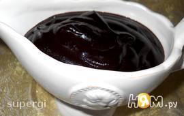 Шоколадный соус для десертов, мороженого, блинов