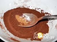 Приготовление шоколадного соуса для десертов: шаг 1