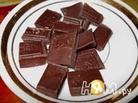Приготовление шоколадного соуса для десертов: шаг 4