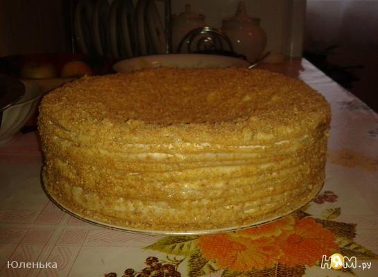 Торт медовый Пчёлкины слёзки