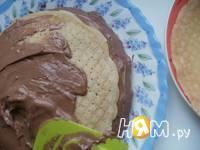 Приготовление блинного тортика с пудинговым кремом: шаг 2
