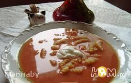 Помидорный суп («Zupa pomidorowa»)