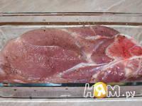 Приготовление свиного окорока в соусе: шаг 5