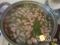 Приготовление супа из зеленого горошка: шаг 5