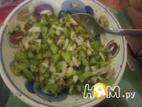 Приготовление шашлыка из куриных грудок с соусом: шаг 6
