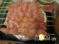 Приготовление шашлыка из куриных грудок с соусом: шаг 7