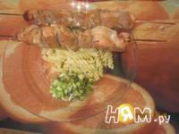 Приготовление шашлыка из куриных грудок с соусом: шаг 8