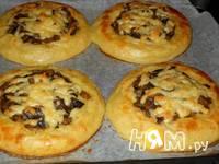 Приготовление картофельных ватрушек с грибами: шаг 15